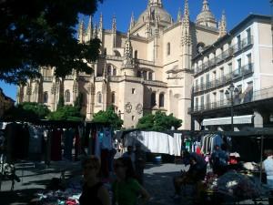 Segovia - Dia de mercado